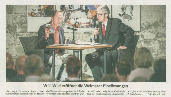 Willi Wild und Michael Eggert 2015