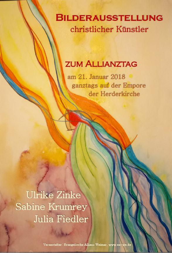 Bilderausstellung zum Allianztag 2018