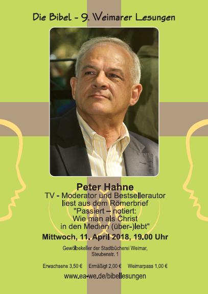 Peter Hahne Plakat