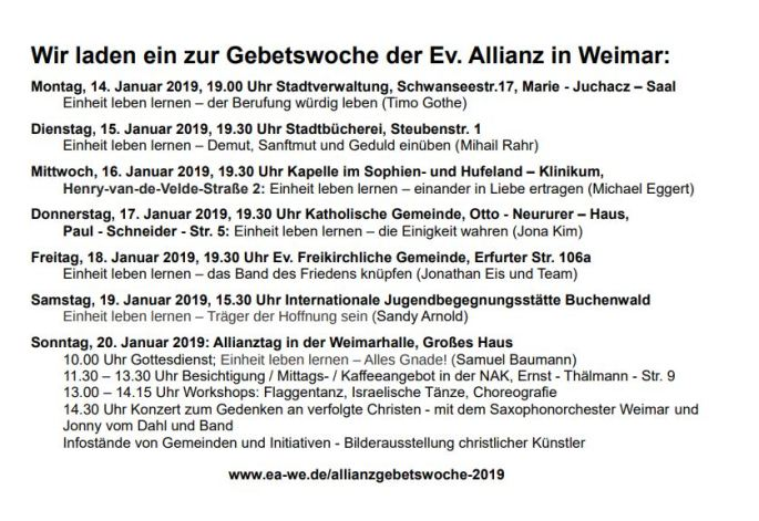allianzbegetswoche 2019